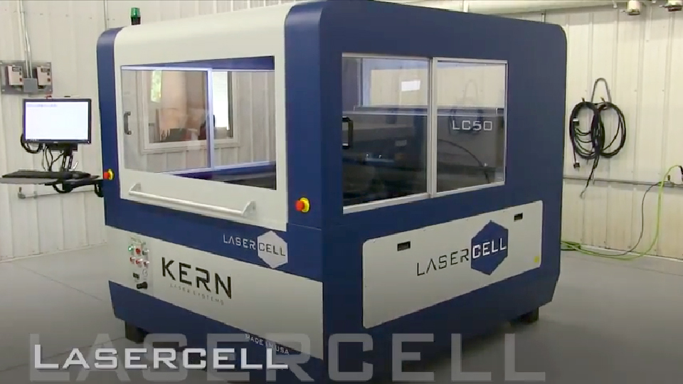 LaserCELL a complete laser cutting and engraving system